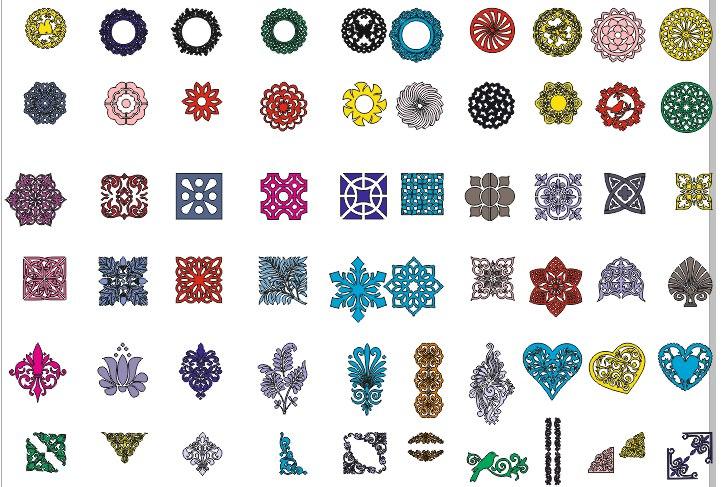 Mandala Round Ornament Vintage Decorative Free CDR Vectors Art