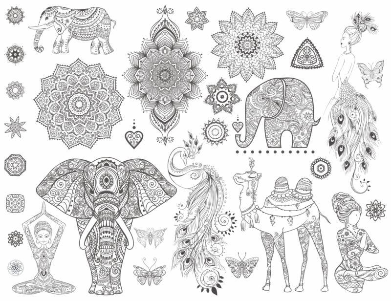 Mandala Ornamental Set Free CDR Vectors Art