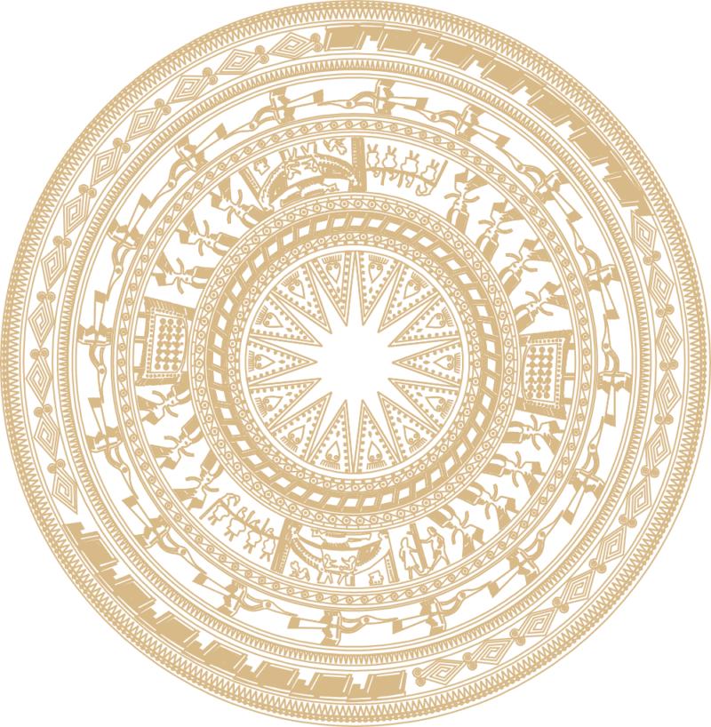 trống đồng – trống đồng Ornament Free CDR Vectors Art