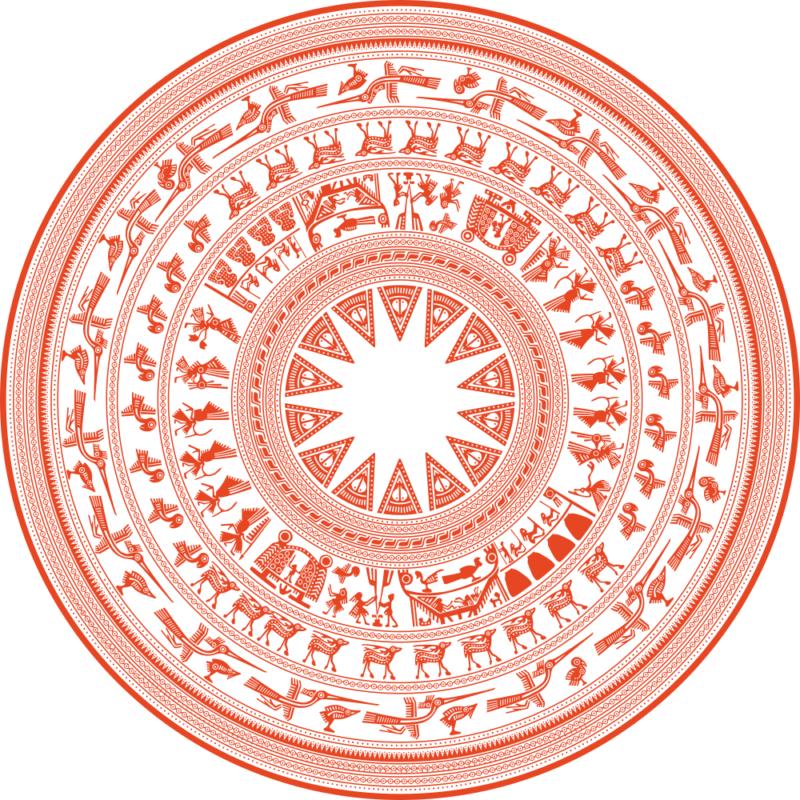 trống đồng ngọc lữ đông sơn việt Nam Ornament Free CDR Vectors Art