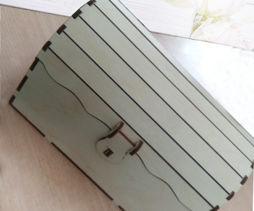 Laser Cut Chest Box Free CDR Vectors Art