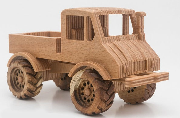Laser Cut Constructor Machine Free DXF File
