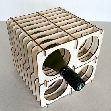 Laser Cut Flat Pack Wine Rack Free DXF File