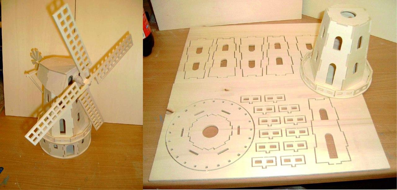 Laser Cut Melnitsa Free DXF File