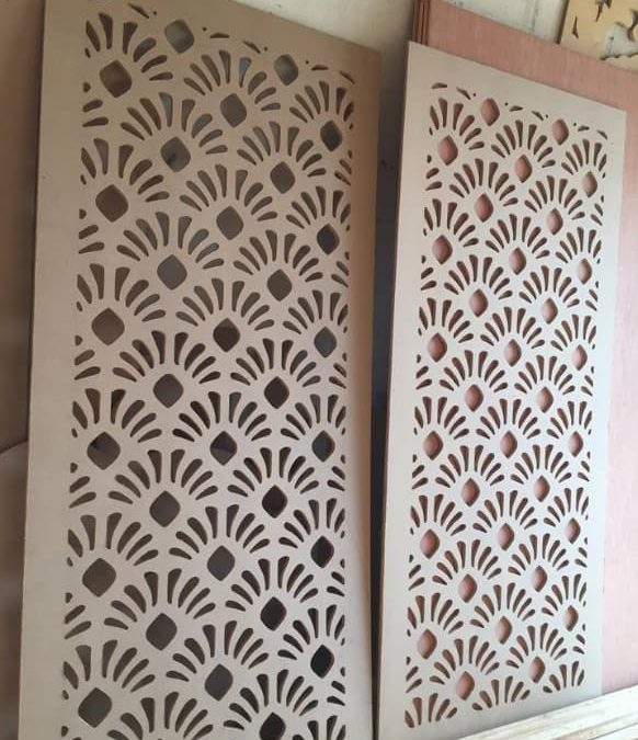 Laser Cut Wall Panel Free DXF File