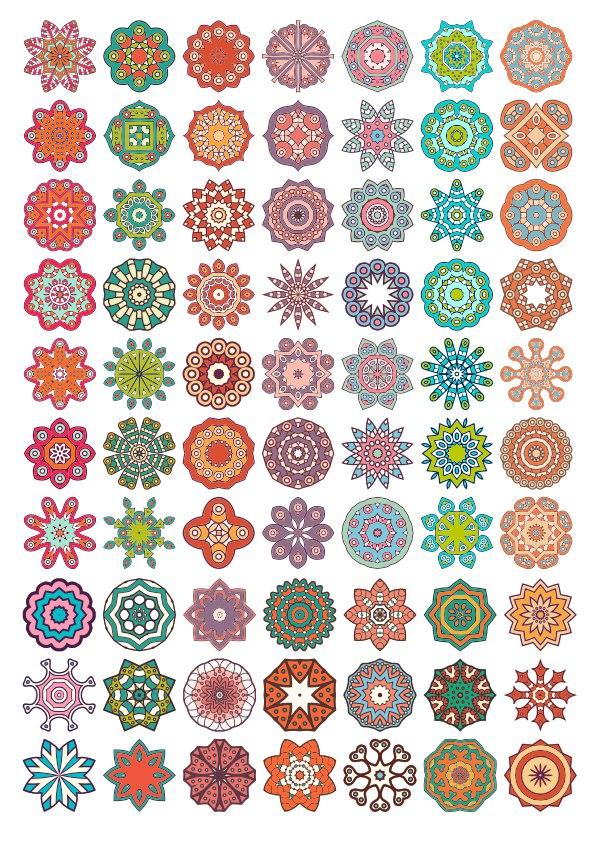 Decorative Mandala Ornaments Free CDR Vectors Art