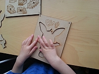 3 In 1 Kid Puzzles Laser Cut Free DXF File