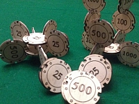 Laser Cut Joinable Poker Chips Free DXF File