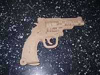 Revolver Laser Cut Free DXF File