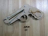 Revolver By Geniusss Laser Cut Free CDR Vectors Art