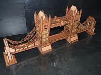 Tower Bridge Laser Cut Free DXF File