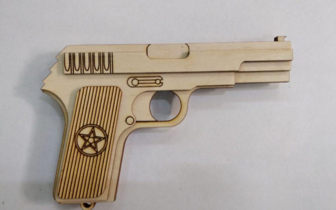 Laser Cut Tt Gun Free CDR Vectors Art