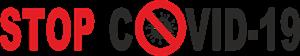 Stop covid-19 Logo Free CDR Vectors Art