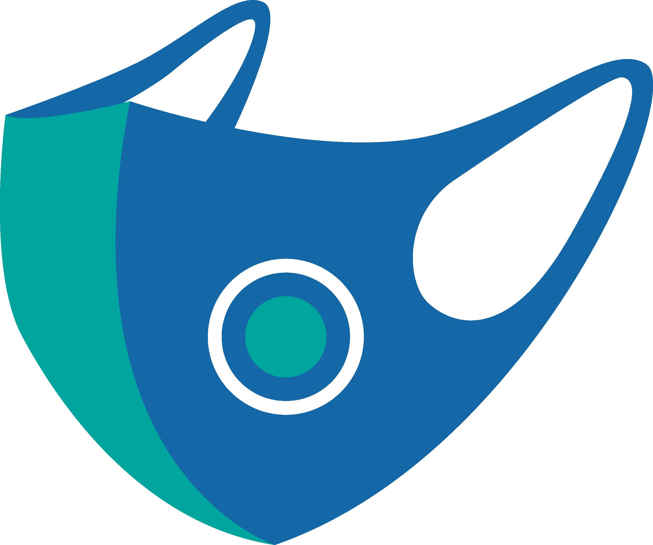 Face Mask Coronavirus Disease covid-19 Free DXF File