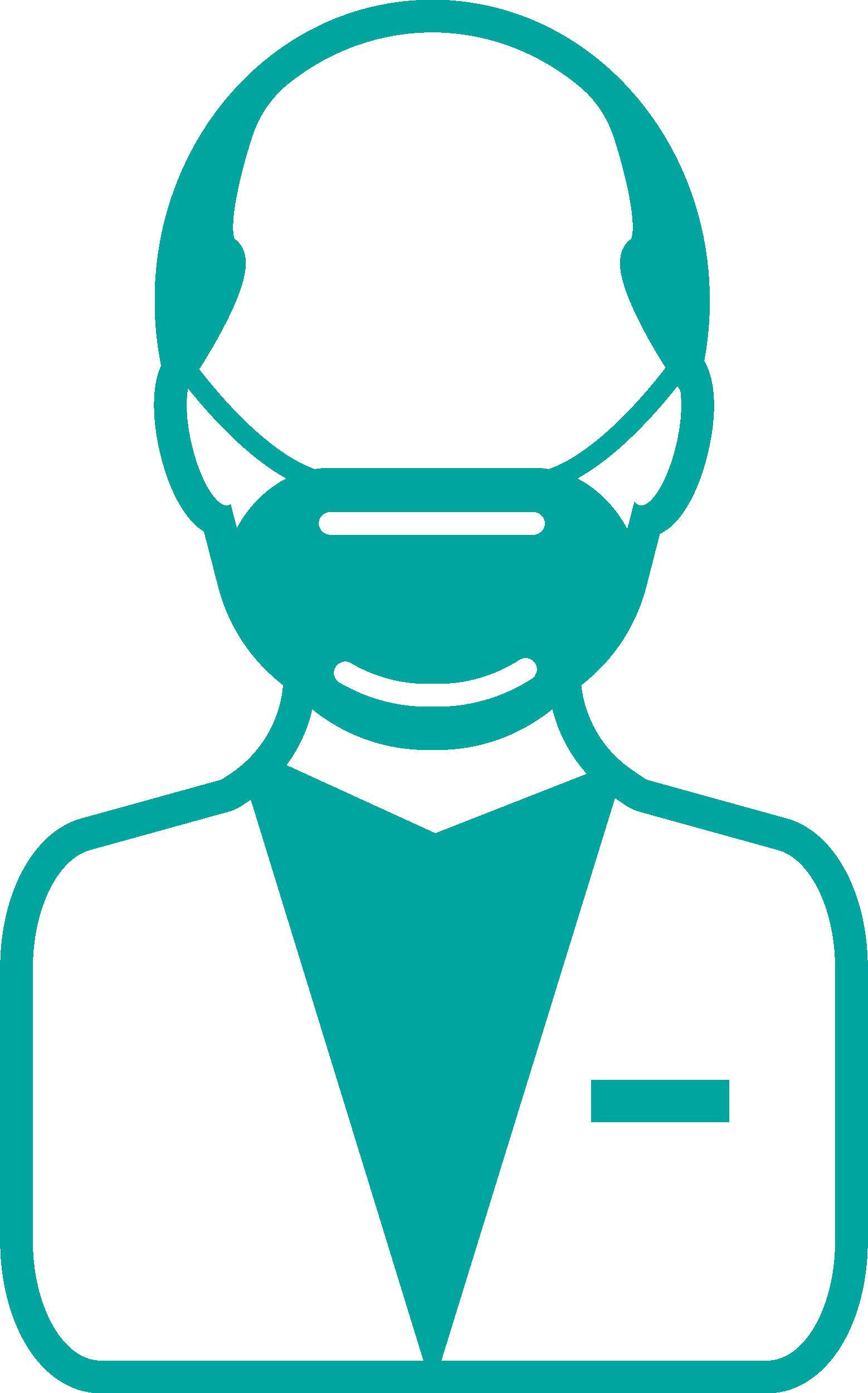 Man With Mask Coronavirus Disease covid-19 Free DXF File