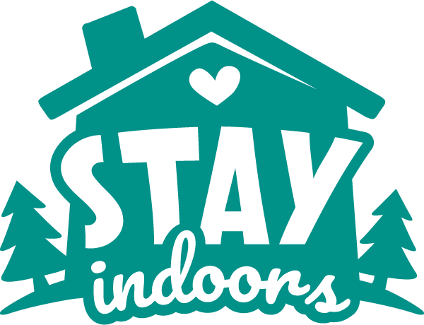 Stay Indoors Coronavirus Disease covid-19 Free DXF File