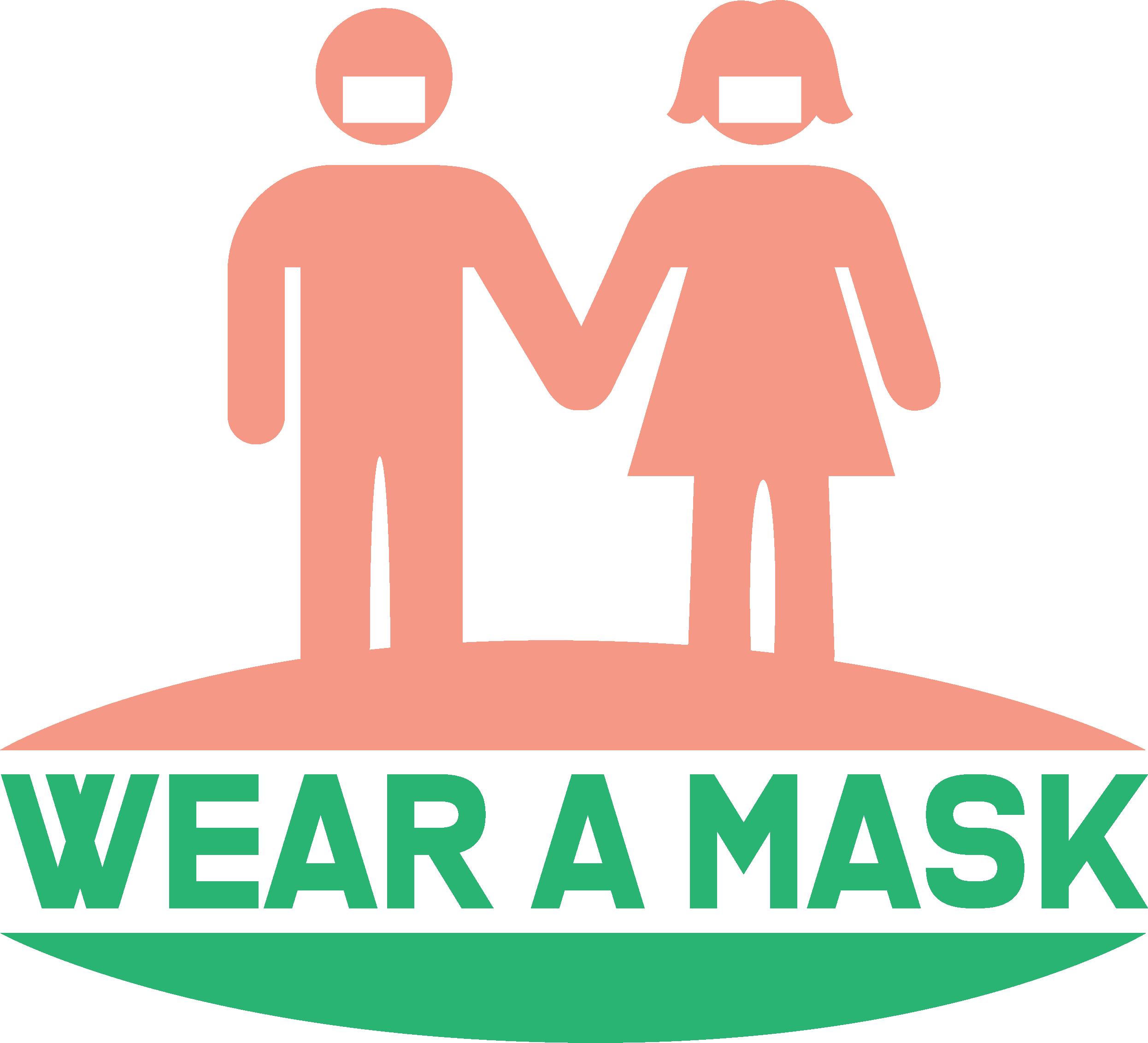 Wear A Mask Coronavirus Disease covid-19 Free DXF File