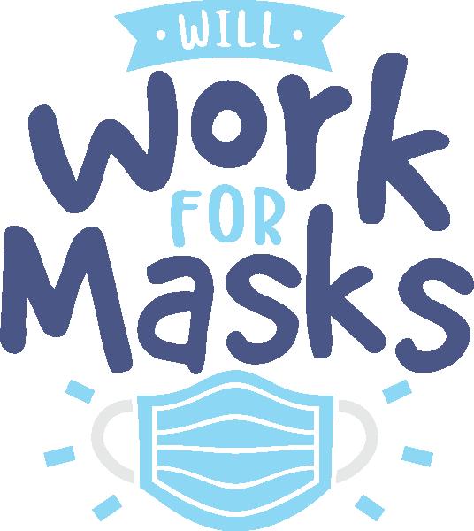 Work For Masks Coronavirus Disease covid-19 Free DXF File