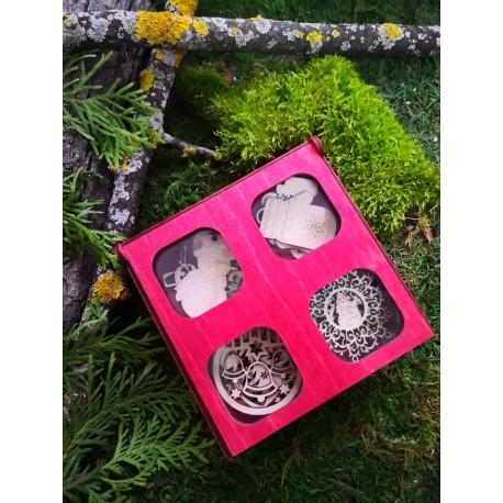 Laser Cut Box With Ornaments Free CDR Vectors Art