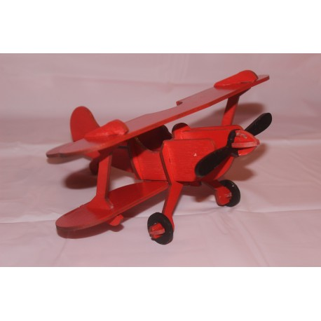 Laser Cut Airplane Plywood 3mm Free CDR Vectors Art