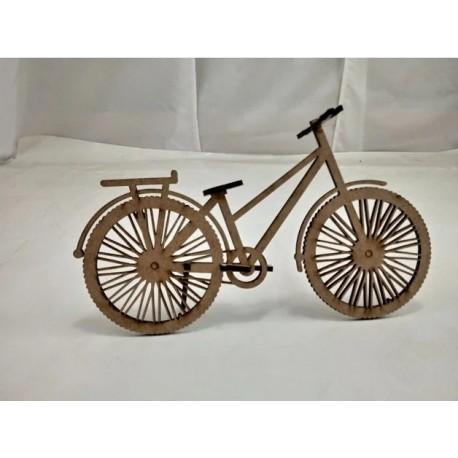 Laser Cut Bicycle Model Free CDR Vectors Art