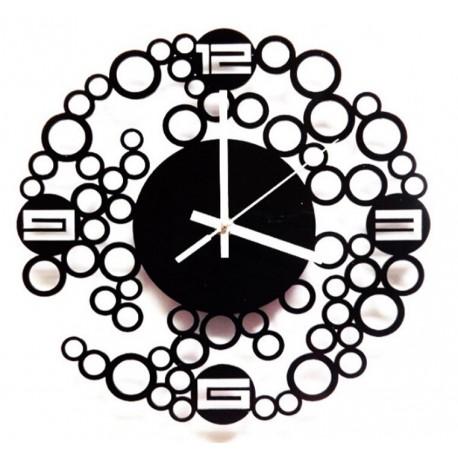 Laser Cut Contemporary Wall Clock Free CDR Vectors Art