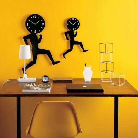 Laser Cut Cool Contemporary Clock Template Free CDR Vectors Art