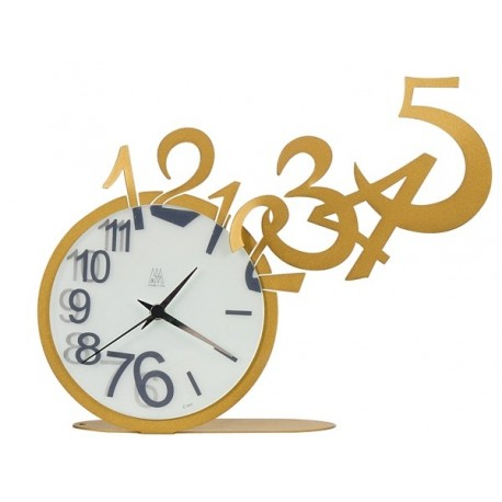 Laser Cut Jumping Out Numbers Clock Template Free CDR Vectors Art