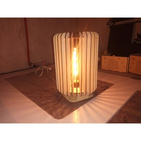 Laser Cut Lamp Template Free CDR Vectors Art