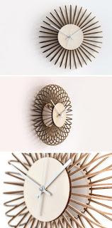 Spiral Clock Design Free CDR Vectors Art