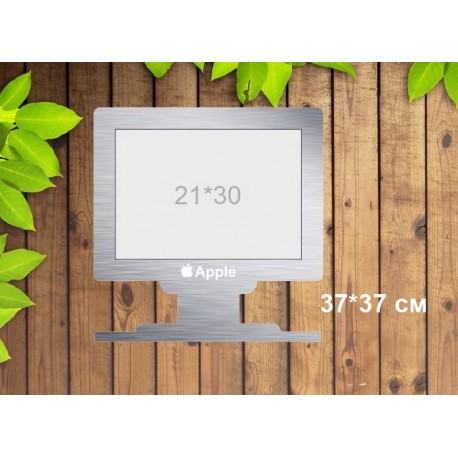 Laser Cut Photo Frame On A Monitor Free CDR Vectors Art