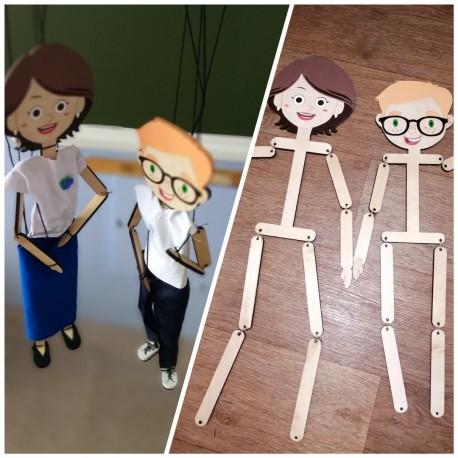 Laser Cut Puppets Free CDR Vectors Art