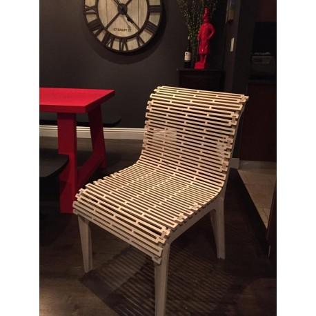 Laser Cut Chair Living Hinge Template Free CDR Vectors Art