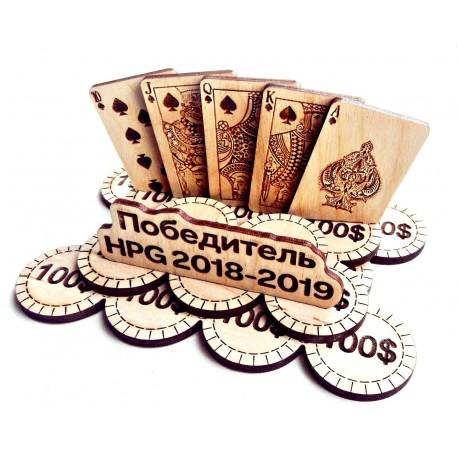 Laser Cut Poker Chips Free CDR Vectors Art