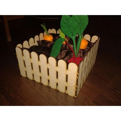 Laser Cut Flower Fence Box Template Free CDR Vectors Art