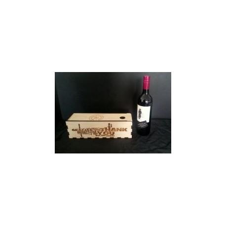 Wine Gift Box Free DXF File