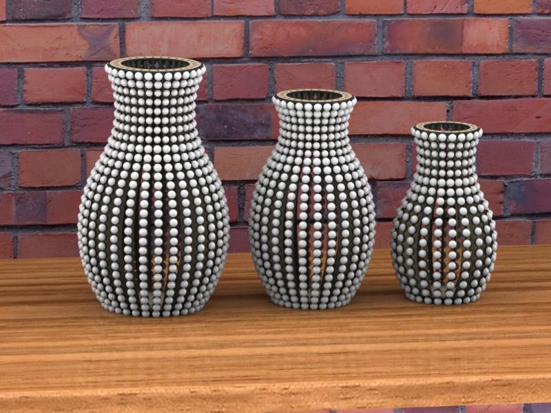 Cnc Laser Cut Vase Project Ideas Free DXF File