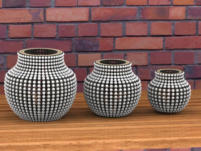 Amazing Laser Cut Vase Project Idea Free CDR Vectors Art