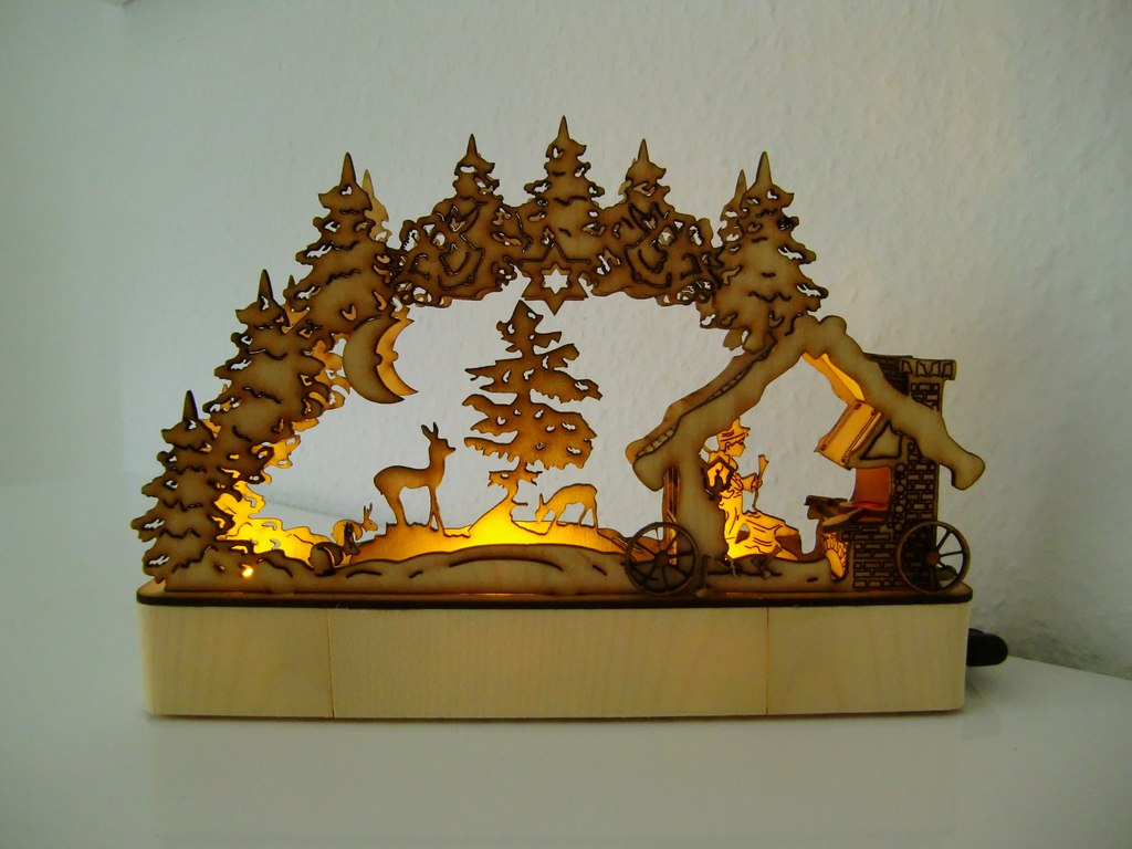 Laser Cut Candle Arch Project Download Free CDR Vectors Art