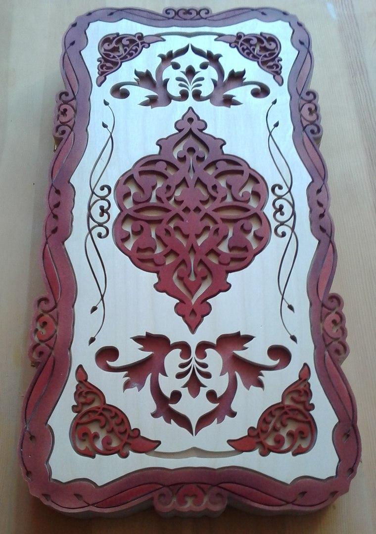 Board Game Armenia Wood Nardy Free DXF File