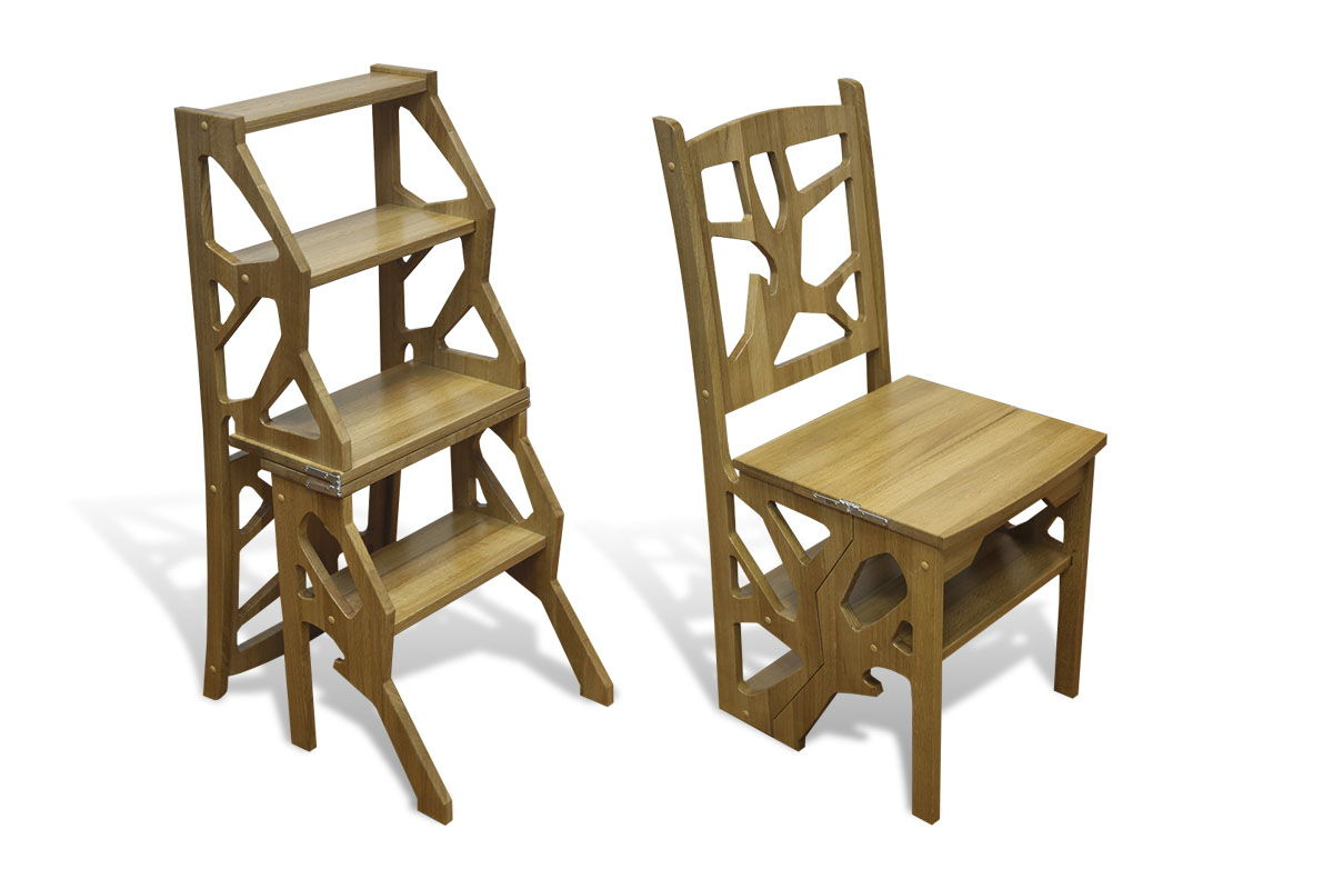 Chair Stool Wood Plans Free DXF File