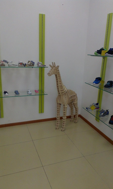 Laser Cut Giraffe 3d Plywood Puzzle 10mm Free CDR Vectors Art