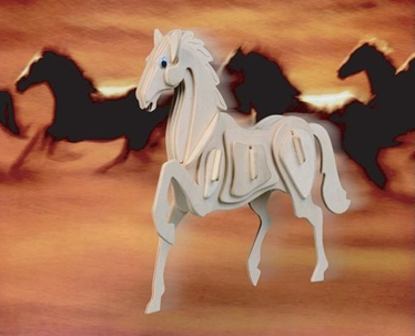 Laser Cut Horse Free DXF File