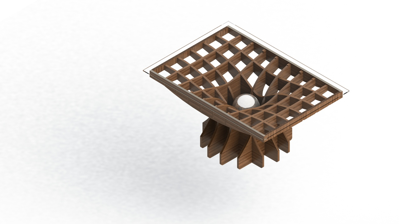 Cnc Laser Cut Coffee Table Free DXF File