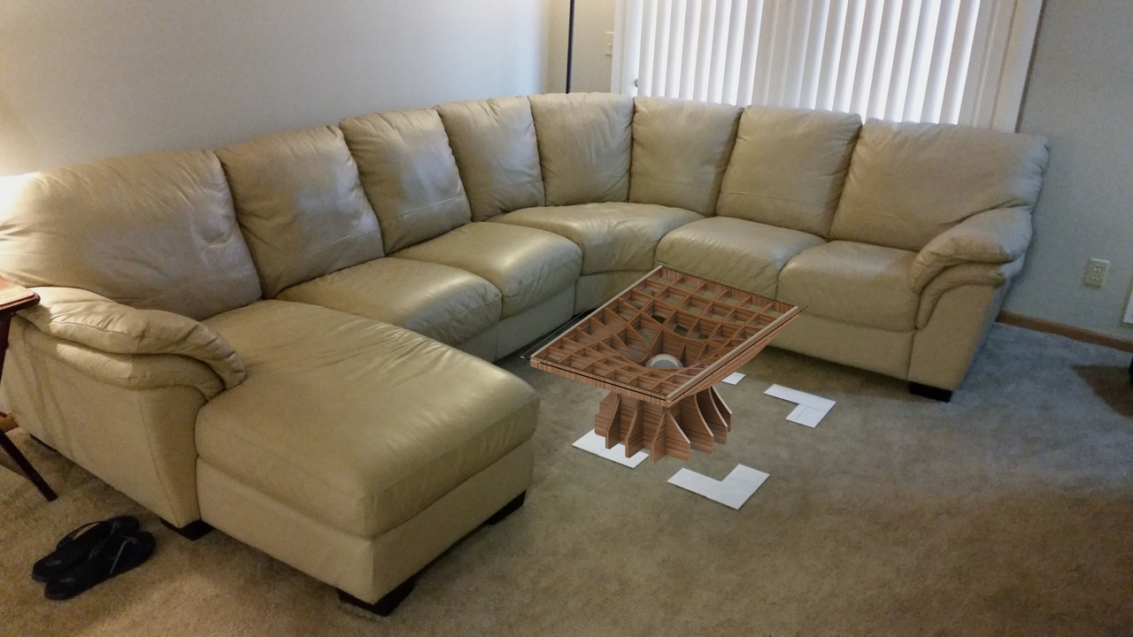 Laser Cut Coffee Table For Cnc Free DXF File