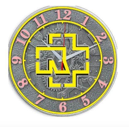 Laser Cutting Clock Design Free CDR Vectors Art
