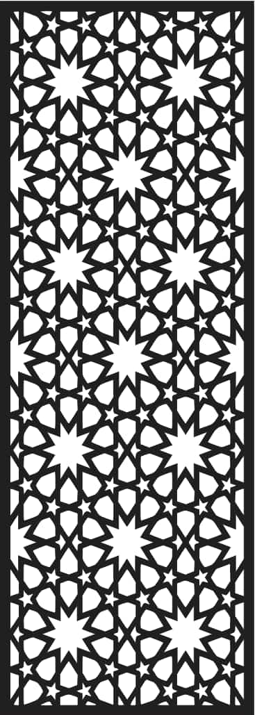 Laser Cutting Screen Design Templates Free DXF File
