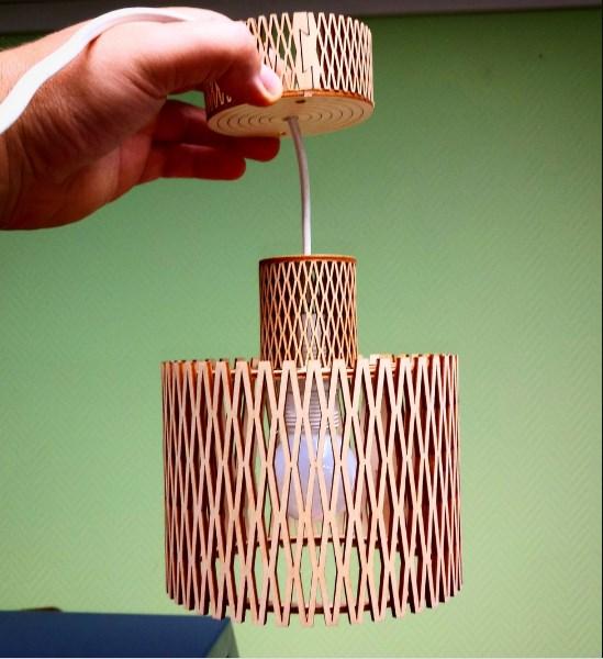 3d Lamp Svetilnik 3mm Free CDR Vectors Art