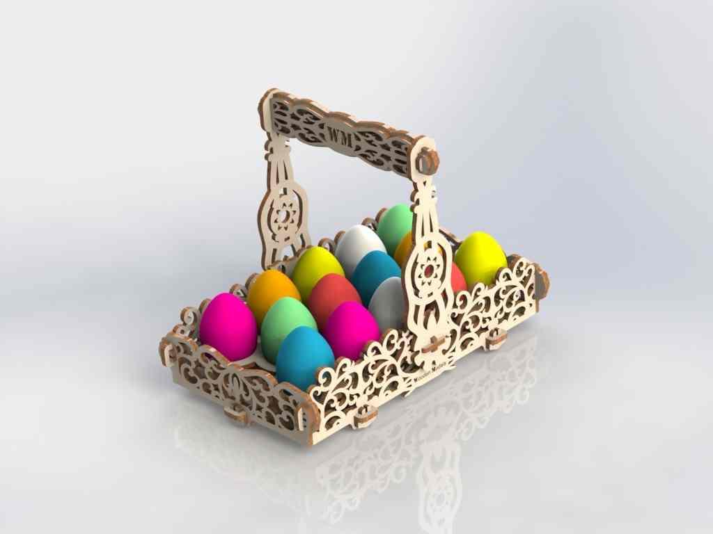 Amazing Laser Cut Basket Ideas Free CDR Vectors Art