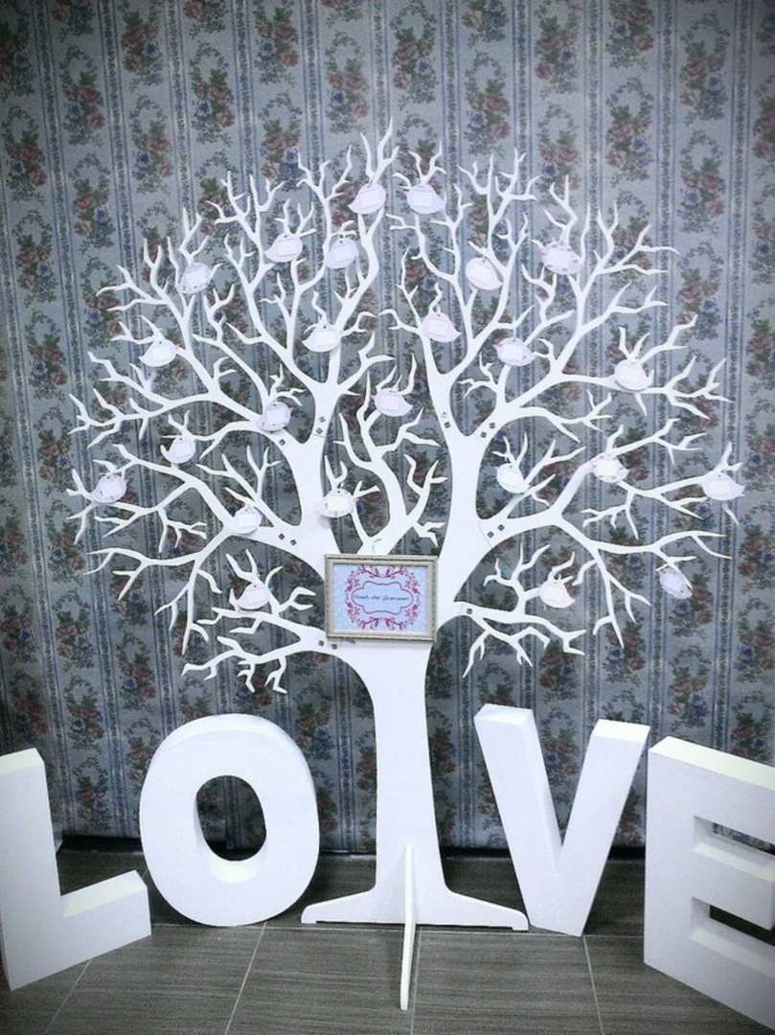 Laser Cut Love Tree Free CDR Vectors Art